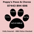 Poppy's Paws and Chores Pet Services